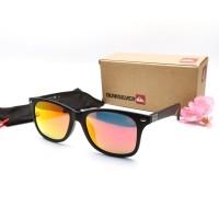 Kacamata / Sunglass Pria Quiksilver D603 Fullset + Cairan Pembersih
