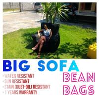 Big Sofa Beanbag Kursi Santai Ruang Tamu TV Keluarga Ikea Tanpa Rangka
