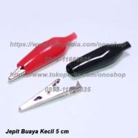 Jepit Buaya 5 cm Set (Merah+Hitam)