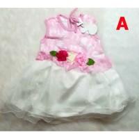 [MB] Baju Bayi Perempuan Baju Pesta Kondangan Gaun Dress Bayi Karen