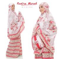 (Busana Muslim Muslimah) Mukena Bali Nadira Tas Pesta.