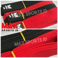 Sabuk Taekwondo Moks Premium Merah Junior Poom dan Senior  OL239 Murah