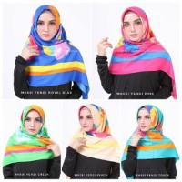 Kerudung Segi Empat Pashmina Jilbab Hijab Murah