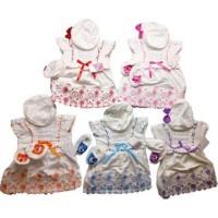PROMO Pakaian anak-anak Baju Bayi Perempuan Baru Lahir Dress Bayi Topi