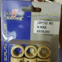 Roller moto 1 racing yamaha N max 155 ocito aerox mio m3 z s 125 fin