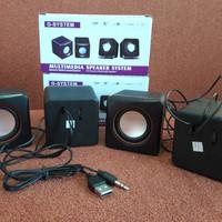 #Peripheral & Aksesoris Speaker Multimedia Komputer / Laptop