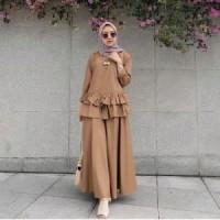 baju muslim wanita setelan Bani new grosir Murah
