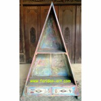 Furniture Antik Rak / Lemari Buku dr Kayu Jati Bekas Rumah Jawa (O.6)