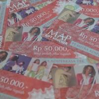 voucher belanja MAP Rp 50.000