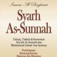 Buku Syarh As-Sunnah Imam Al-Baghowi Jilid 10