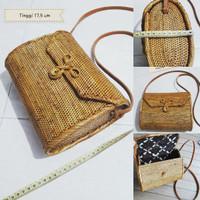 Jual tas ketak (rotan) dompet lombok Murah