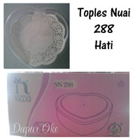 Toples Nuai 288 (12pcs) / Toples Hati / Nastar/ Kue kerinh
