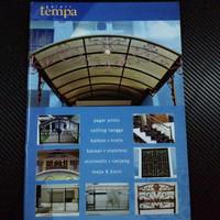 ornamen dan aksesoris bengkel las buku katalog tralis minimalis