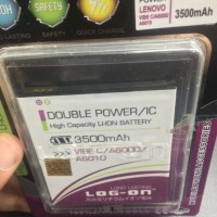 Baterai Lenovo Vibe C A2020 3500Mah Double Power Log on