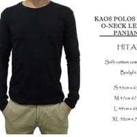 Kaos Polos Lengan Panjang Pria Combed 40s High Grade