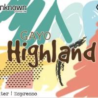 UNKNOWN Coffee Lab | Single Origin Gayo Highland 1kg Coffee Beans