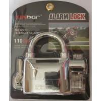 Super Strong Quality Gembok Alarm Motor Suara Anti Maling   Lock Siren