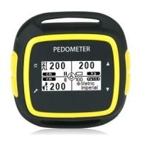 EGOMAN Bluetooth Fitness Activity Tracker - PD198 - Hitam Kuning