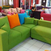 Sofa l putus minimalis model sofa ruang tamu