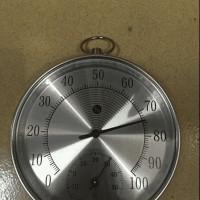Thermohygro, Termometer dan Hygrometer. ANALOG, stainle PROMO