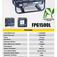 FIRMAN Genset 1000 watt FPG1500 L