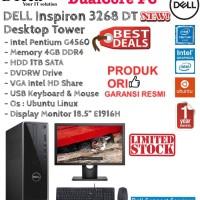 "DELL Inspiron 3268 DT Intel DualCore G4560/4GB/1TB/DVDRW/LINUX/18.5""."