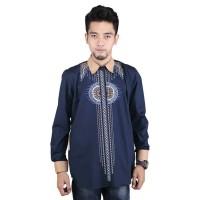 Baju Koko Kemeja Busana Muslim Pria Cowok Lengan Panjang RYR 011 RZ