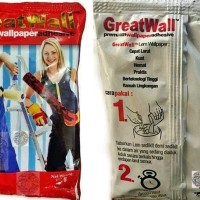 Lem Wallpaper merk Great Wall