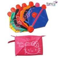 New Tas Kosmetik Pouch Hello Kitty Colorful