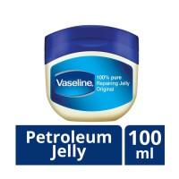 New Vaseline Petroleum Repairing Jelly Original 100 mL (kemasan