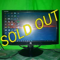 LCD Monitor Komputer Compaq 19inch wide S1922