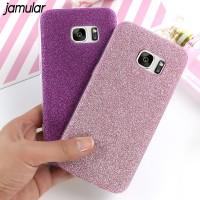 JAMULAR Bling Glitter Phone Case for Samsung Galaxy S8 Plus S7 S6 Edge