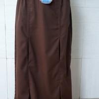 seragam rok span BAN PJG LITTON biru, abu, coklat, hitam, putih
