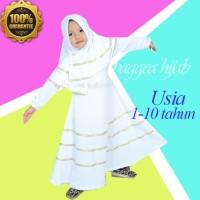Baju Muslim Anak Perempuan - Busana Muslim Terbaru - Baju Pesta Anak