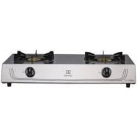Table Top Gas Cooker/Kompor 2 Tungku Electrolux/ETG72X-Silver