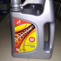 Jual Oli Pertamina Prima XP SAE 10W 40 API SM 4 Liter Original Murah