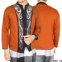 Baju Lebaran Baju Koko Lengan Panjang KKL 18 Ramadhan