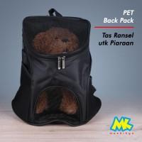 Pet Carrier / Tas Ransel untuk anjing kucing kelinci musang