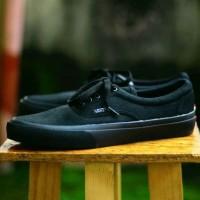 sepatu vans era cewek full hitam sneakers skate hits keren gaya main