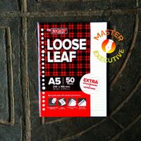 Paperline A5 50 lbr isi Loose Leaf / Kertas Refill Binder 20 Holes
