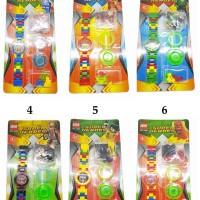 Jual Jam Tangan Lego Superhero / Jam Robot / Jam Tangan Karakter Murah