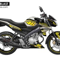 Decal Stiker FULLBODY New Vixion GOLD VR46 YELLOW