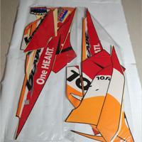Stiker Bodi & Lis Body & Striping Blade 2011 Repsol