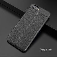 LEATHER AUTO FOCUS Huawei Honor V10 View 10 soft case casing hp cover