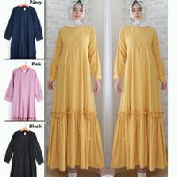 Terbaru terkini masakini Baju Muslim Gamis dress cewek Wanita Murah
