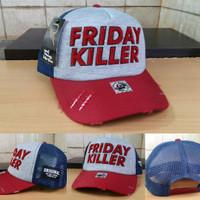 Topi Trucker Friday Killer Topi Distro Friday Killer - Daftar Harga ... 08c5f5f2b6