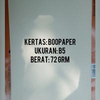 Cetak Digital Print Buku Ebook (Bookpaper, Ukuran B5, 72gr)