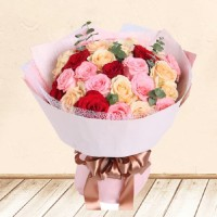 buket bunga - bunga ulang tahun - bunga wisuda - Colourful Dream