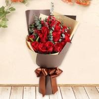 hand bouquet - buket bunga wisuda - kado ulang tahun - love in Paris