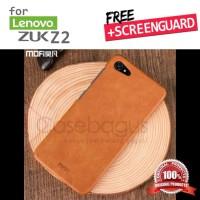 Lenovo Zuk Z2 - Mofi Leather Hard Case Cover Casing bumper armor Kulit